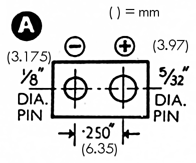 "Type ""A"" connector (1.5V LT)"